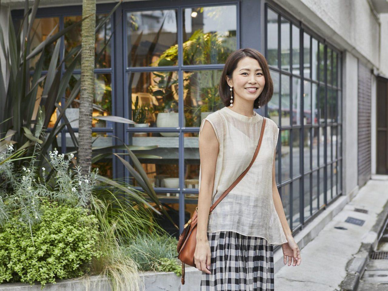 モデル   坂元 美香